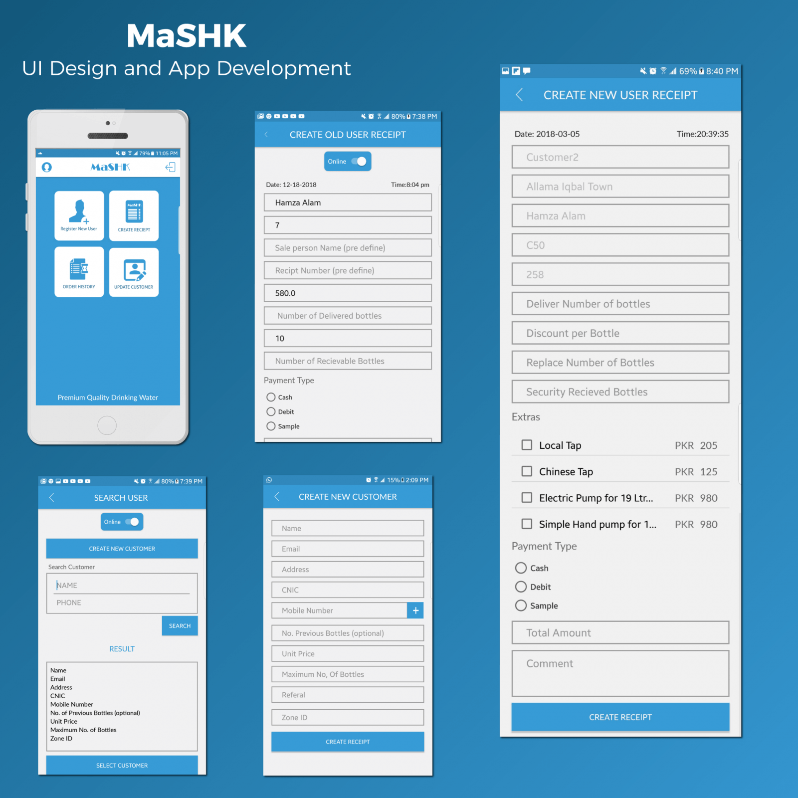 MASHK | App Development